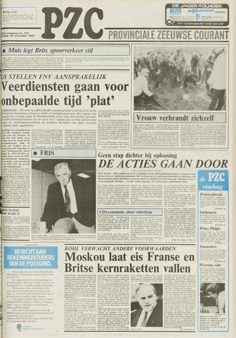 Provinciale Zeeuwse Courant 1983-11-18