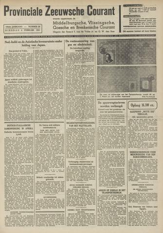 Provinciale Zeeuwse Courant 1941-02-04