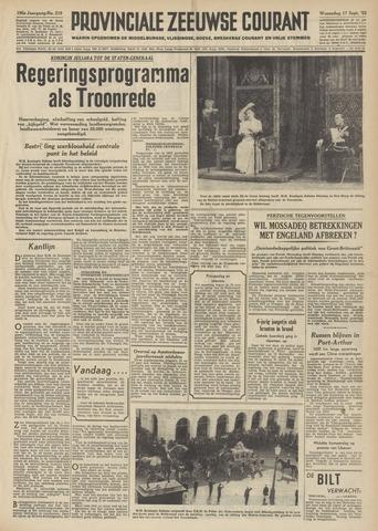 Provinciale Zeeuwse Courant 1952-09-17