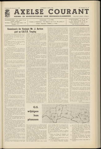 Axelsche Courant 1965-06-05