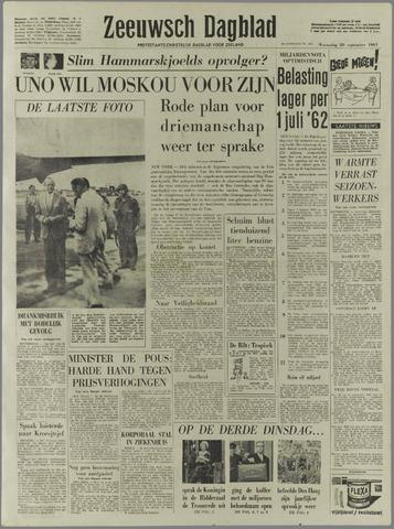 Zeeuwsch Dagblad 1961-09-20