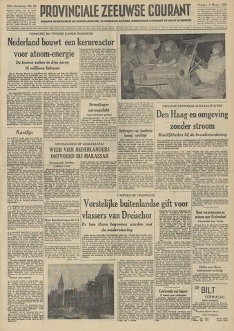 Provinciale Zeeuwse Courant 1954-03-05