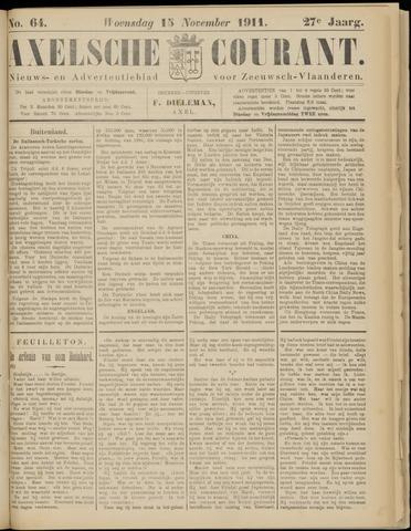 Axelsche Courant 1911-11-15