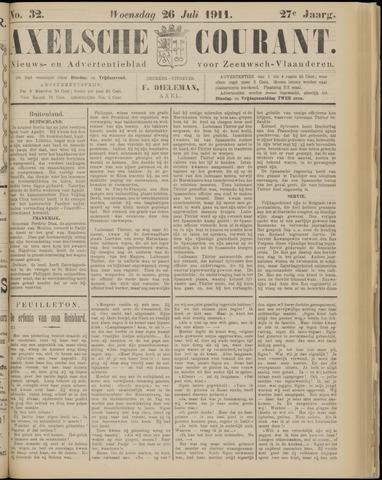 Axelsche Courant 1911-07-26