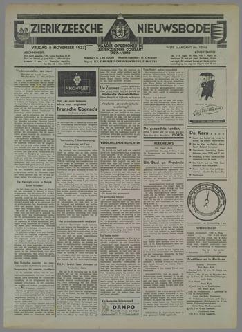 Zierikzeesche Nieuwsbode 1937-11-05