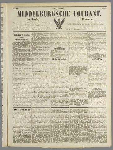 Middelburgsche Courant 1908-12-03