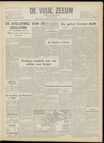de Vrije Zeeuw 1953-02-18