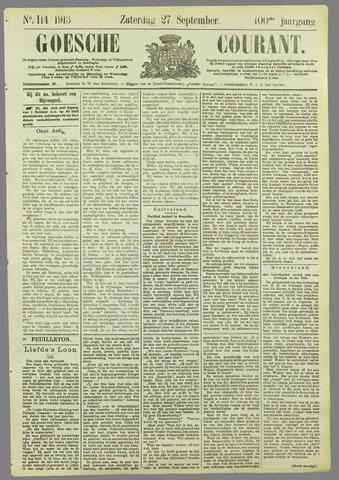 Goessche Courant 1913-09-27