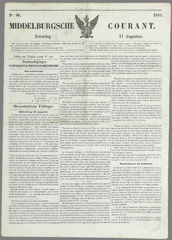 Middelburgsche Courant 1855-08-11