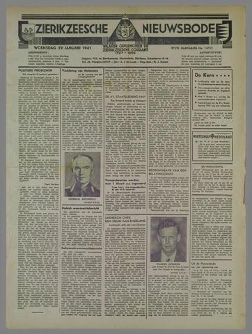 Zierikzeesche Nieuwsbode 1941-01-29