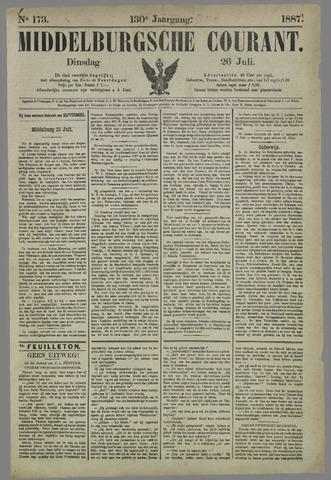 Middelburgsche Courant 1887-07-26