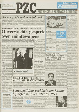 Provinciale Zeeuwse Courant 1984-07-04