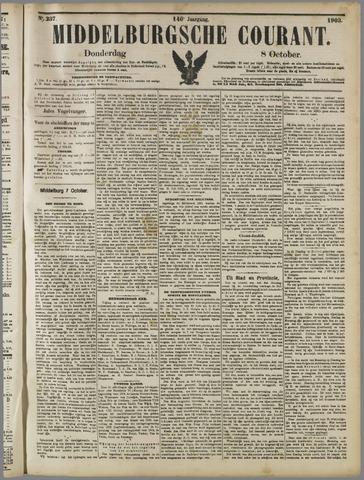 Middelburgsche Courant 1903-10-08