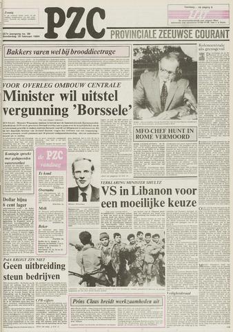 Provinciale Zeeuwse Courant 1984-02-16