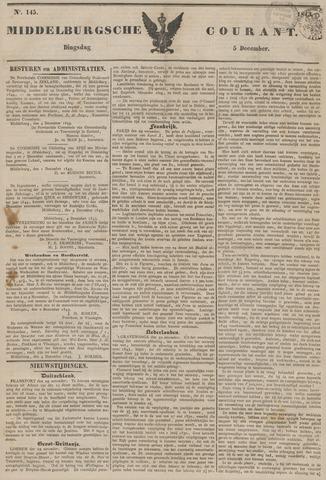 Middelburgsche Courant 1843-12-05