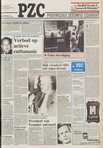 Provinciale Zeeuwse Courant 1987-01-17