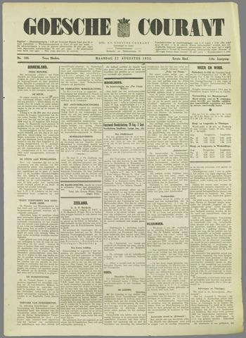Goessche Courant 1932-08-22