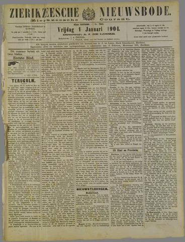 Zierikzeesche Nieuwsbode 1904-01-01