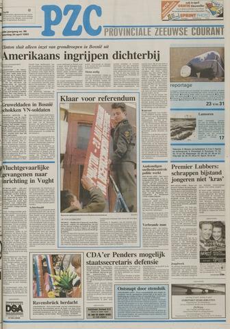 Provinciale Zeeuwse Courant 1993-04-24