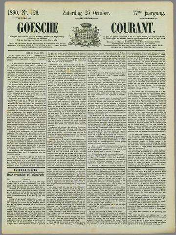 Goessche Courant 1890-10-25