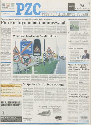 Provinciale Zeeuwse Courant 2002-05-03