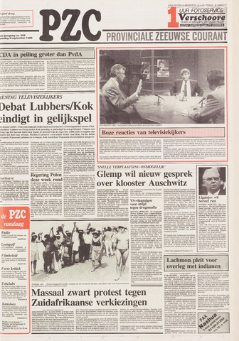 Provinciale Zeeuwse Courant 1989-09-04