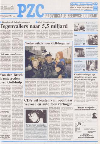 Provinciale Zeeuwse Courant 1990-12-19