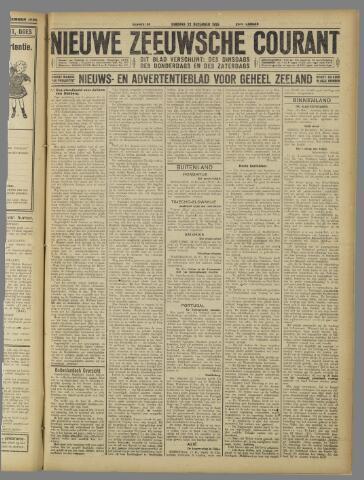 Nieuwe Zeeuwsche Courant 1925-12-22
