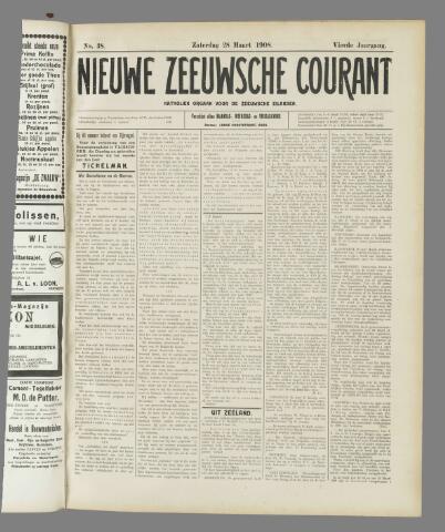 Nieuwe Zeeuwsche Courant 1908-03-28