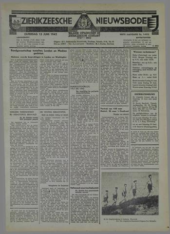 Zierikzeesche Nieuwsbode 1942-06-13