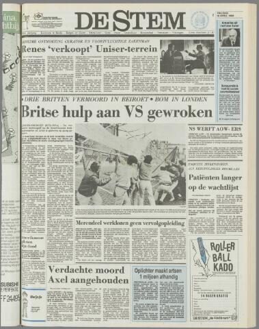 de Stem 1986-04-18