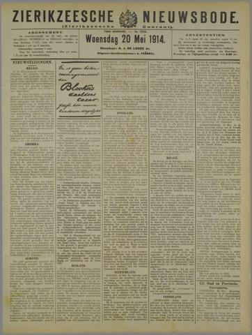 Zierikzeesche Nieuwsbode 1914-05-20