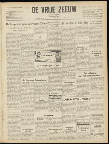de Vrije Zeeuw 1954-06-11