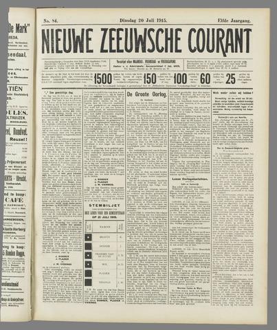 Nieuwe Zeeuwsche Courant 1915-07-20