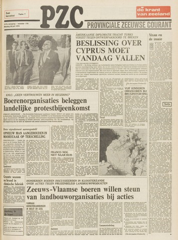 Provinciale Zeeuwse Courant 1974-07-30