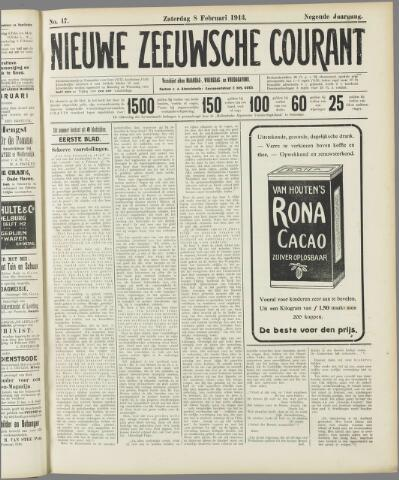 Nieuwe Zeeuwsche Courant 1913-02-08