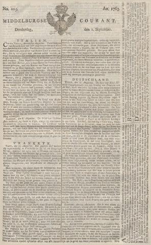 Middelburgsche Courant 1763-09-01
