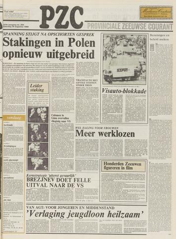 Provinciale Zeeuwse Courant 1980-08-30