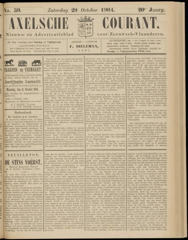 Axelsche Courant 1904-10-29