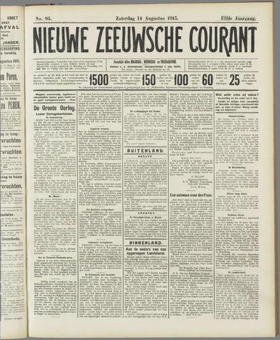 Nieuwe Zeeuwsche Courant 1915-08-14