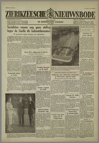 Zierikzeesche Nieuwsbode 1958-05-30