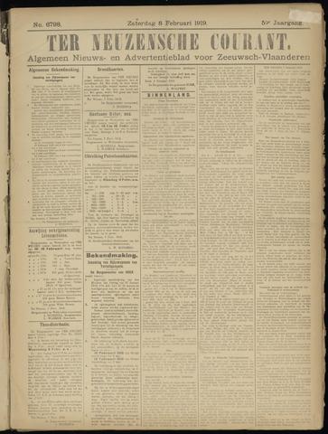 Ter Neuzensche Courant. Algemeen Nieuws- en Advertentieblad voor Zeeuwsch-Vlaanderen / Neuzensche Courant ... (idem) / (Algemeen) nieuws en advertentieblad voor Zeeuwsch-Vlaanderen 1919-02-08