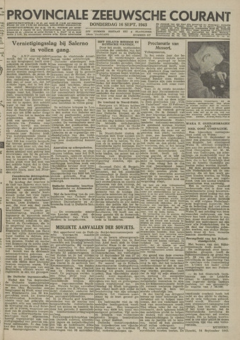 Provinciale Zeeuwse Courant 1943-09-16
