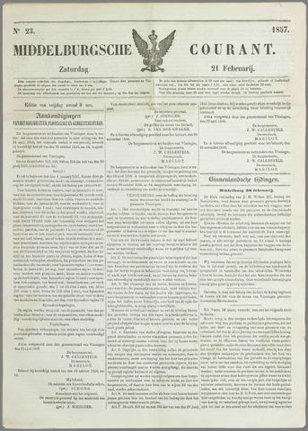 Middelburgsche Courant 1857-02-21