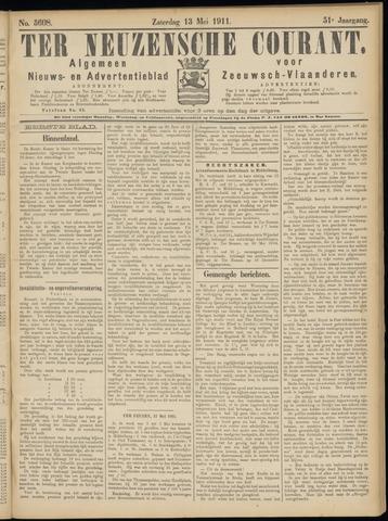 Ter Neuzensche Courant. Algemeen Nieuws- en Advertentieblad voor Zeeuwsch-Vlaanderen / Neuzensche Courant ... (idem) / (Algemeen) nieuws en advertentieblad voor Zeeuwsch-Vlaanderen 1911-05-13