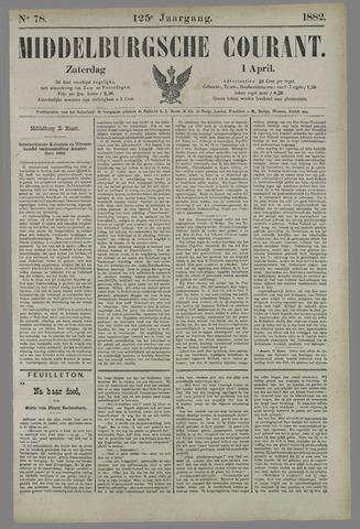 Middelburgsche Courant 1882-04-01