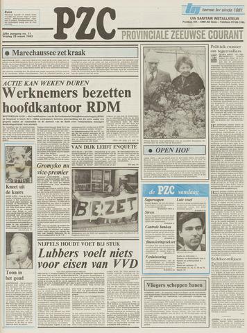 Provinciale Zeeuwse Courant 1983-03-25