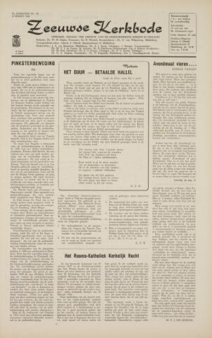 Zeeuwsche kerkbode, weekblad gewijd aan de belangen der gereformeerde kerken/ Zeeuwsch kerkblad 1966-03-18