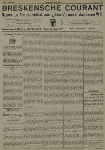 Breskensche Courant 1936-04-28