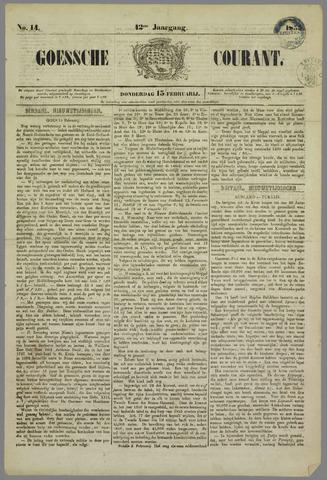Goessche Courant 1855-02-15